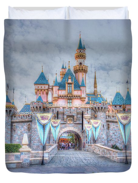 Disney Magic Duvet Cover by Heidi Smith