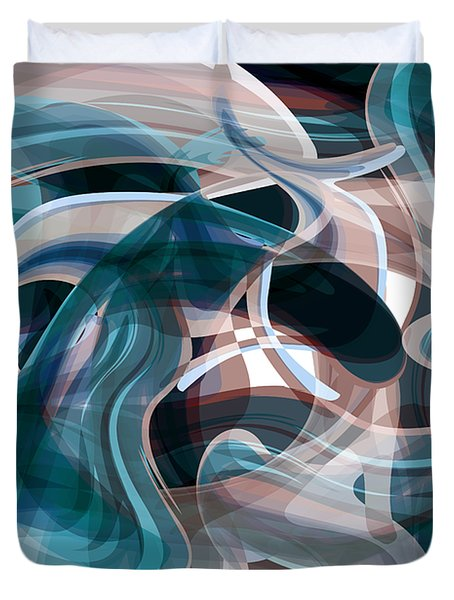 Diving Into Your Ocean 3 Duvet Cover by Angelina Vick