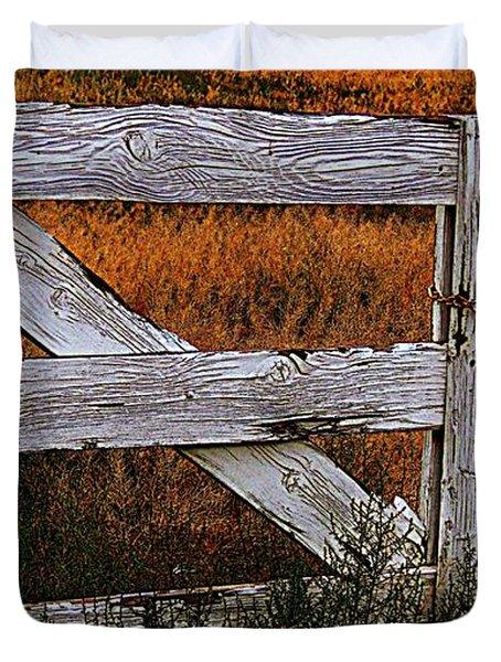 Do Not Enter Duvet Cover by Bobbee Rickard