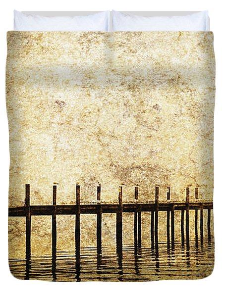 Dock Duvet Cover by Skip Nall