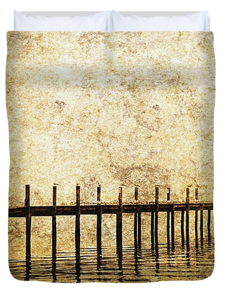 Dock Duvet Cover by Skip Nall