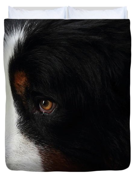 Dog Duvet Cover by Wingsdomain Art and Photography