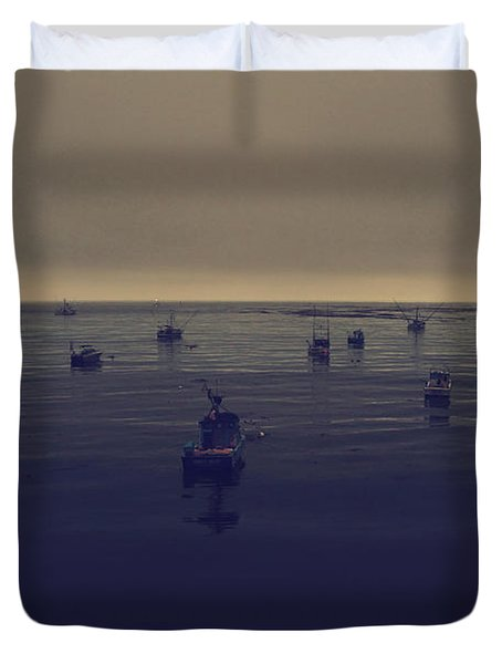 Done For The Day Duvet Cover by Laurie Search
