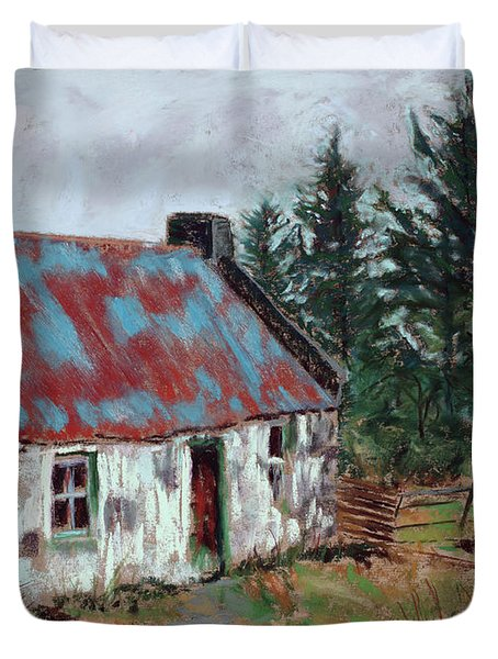 Dooish Hill Donegal Ireland Duvet Cover by Mary Benke
