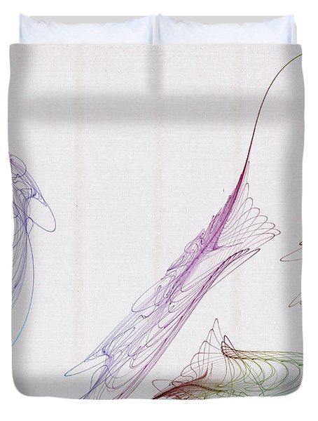 Double Loop Duvet Cover by David Ridley