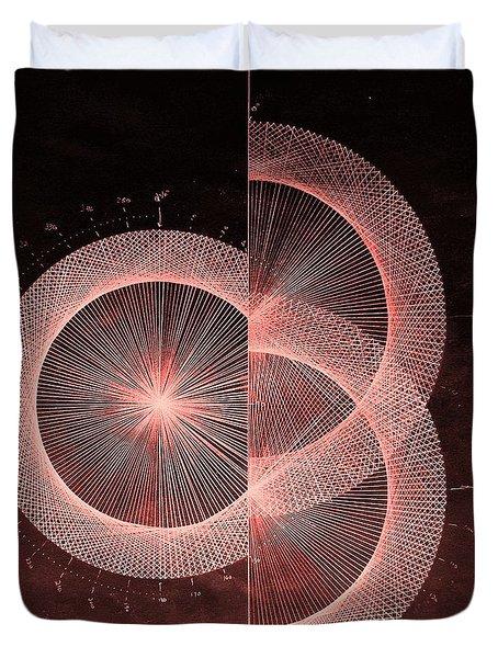 Double Slit Test  Duvet Cover by Jason Padgett