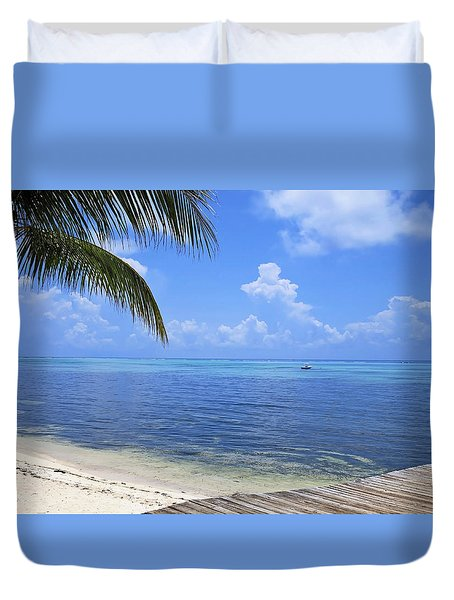 Down Island Duvet Cover by Stephen Anderson
