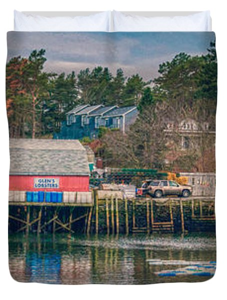 Downeast Duvet Cover by Guy Whiteley