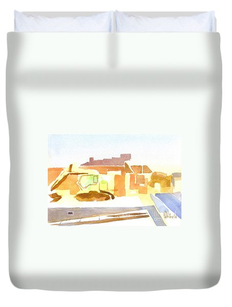 Dozing The Kozy    Duvet Cover by Kip DeVore