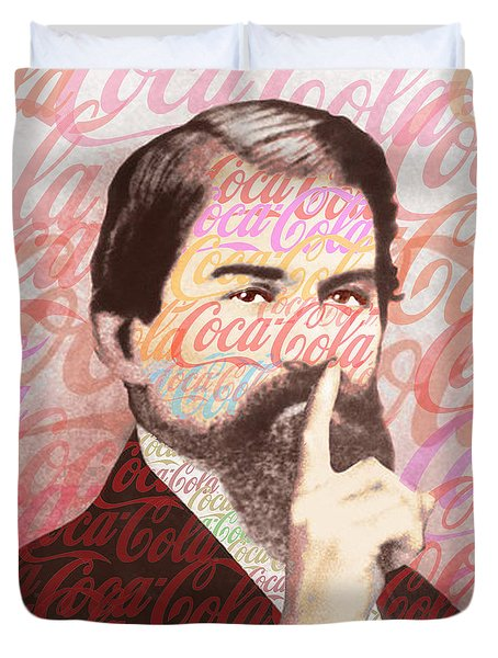 Dr. John Pemberton Inventor Of Coca-cola Duvet Cover by Tony Rubino