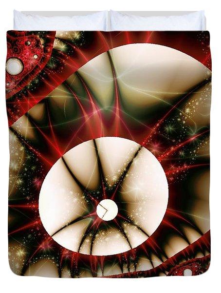 Dragon Eye Duvet Cover by Anastasiya Malakhova