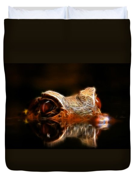 Dragons Lair Duvet Cover by Steve McKinzie