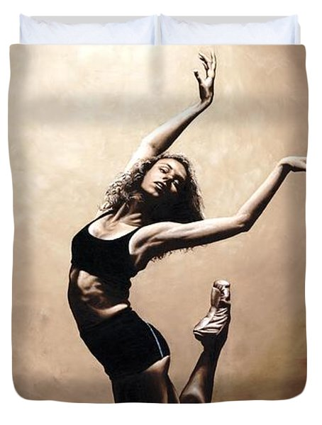 Dramatic Eclecticism Duvet Cover by Richard Young