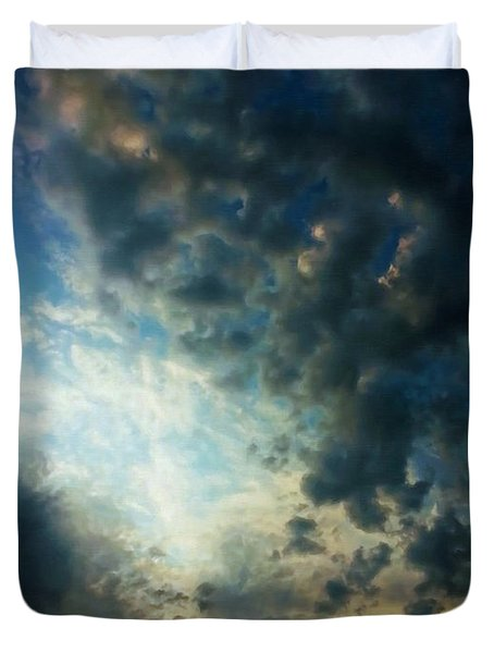 Dramatic Morning Duvet Cover by Dale Jackson