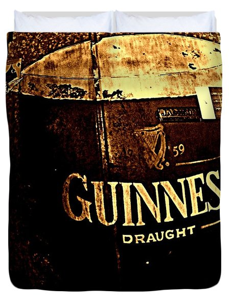 Draught  Duvet Cover by Chris Berry