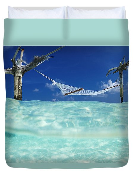 Dream Hammock. Duvet Cover by Sean Davey