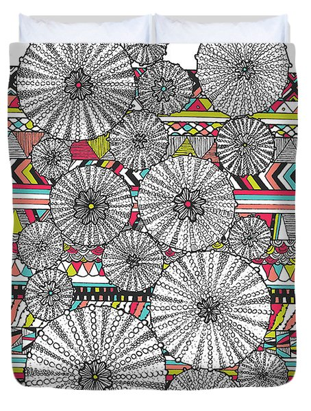 Dream Urchins Duvet Cover by Susan Claire