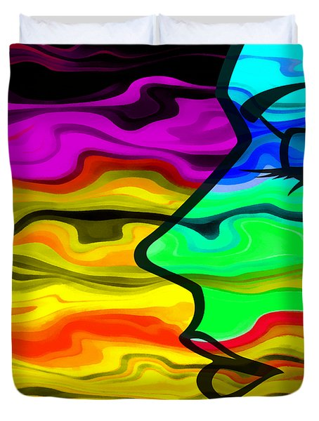 Dreaming 2 Duvet Cover by Angelina Vick
