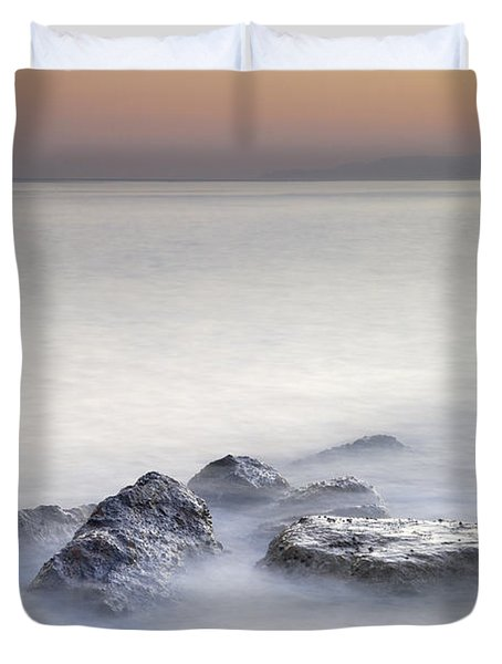 dreaming between the islands I Duvet Cover by Guido Montanes Castillo