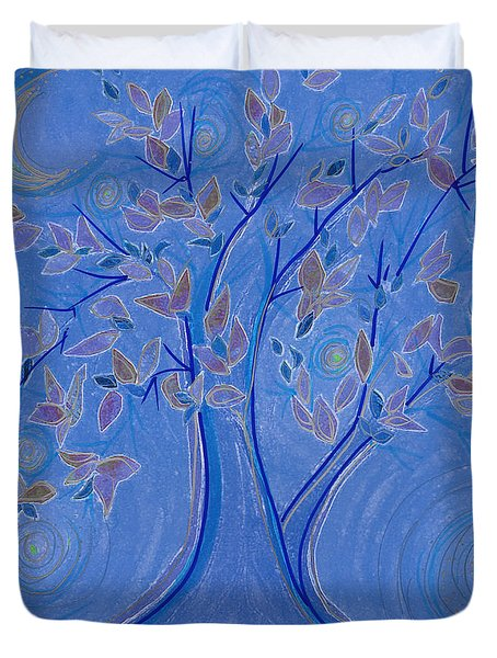 Dreaming Tree By Jrr Duvet Cover by First Star Art
