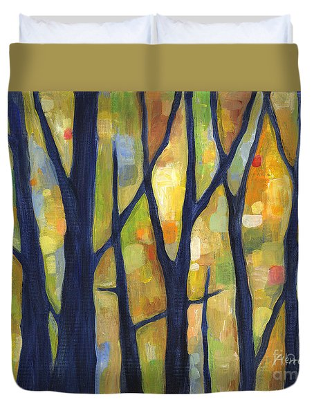 Dreaming Trees 2 Duvet Cover by Hailey E Herrera