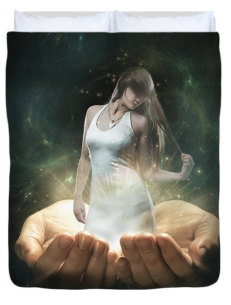 Dreamscape Duvet Cover by Erik Brede