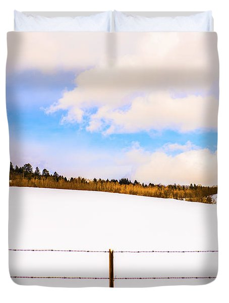 Dreamtime Duvet Cover by Sandi Mikuse