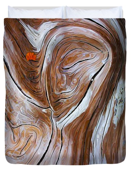 Driftwood 6 Duvet Cover by Bill Caldwell -        ABeautifulSky Photography