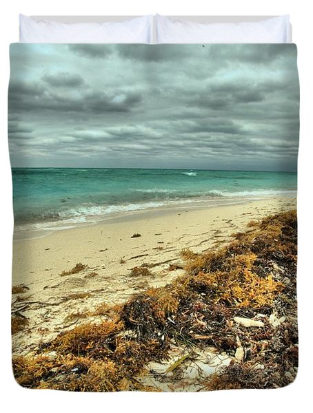 Dry Tortugas Beach Duvet Cover by Adam Jewell