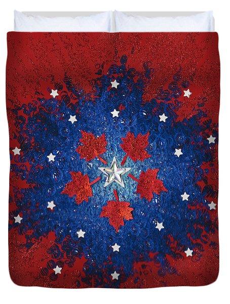 Dual Citizenship 2 Duvet Cover by First Star Art