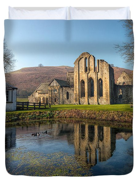 Duck Pond Duvet Cover by Adrian Evans