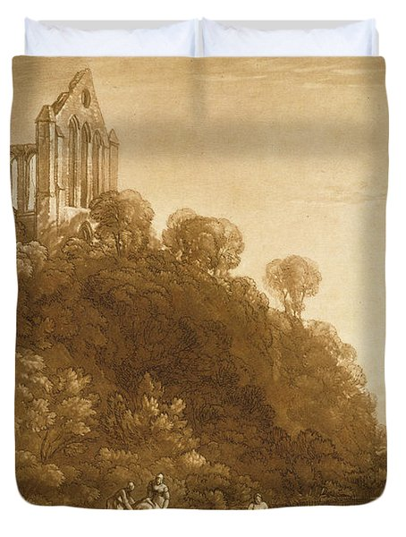 Dunblane Abbey Duvet Cover by Joseph Mallord William Turner