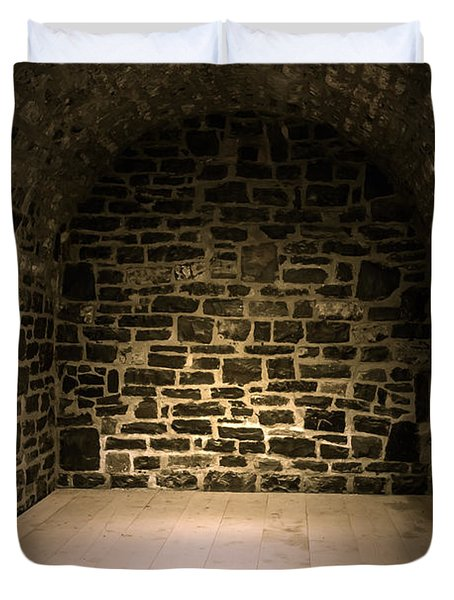 Dungeon Duvet Cover by Edward Fielding