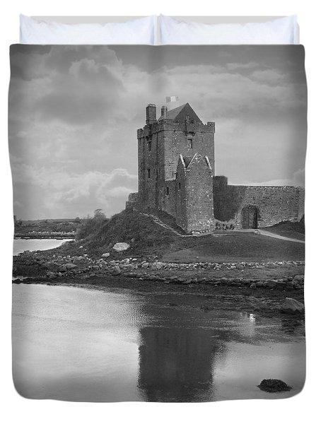 Dunguaire Castle - Ireland Duvet Cover by Mike McGlothlen