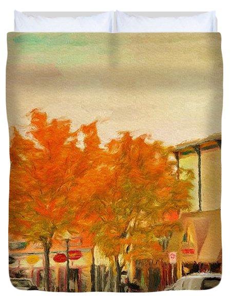 Durango Autumn Duvet Cover by Jeff Kolker