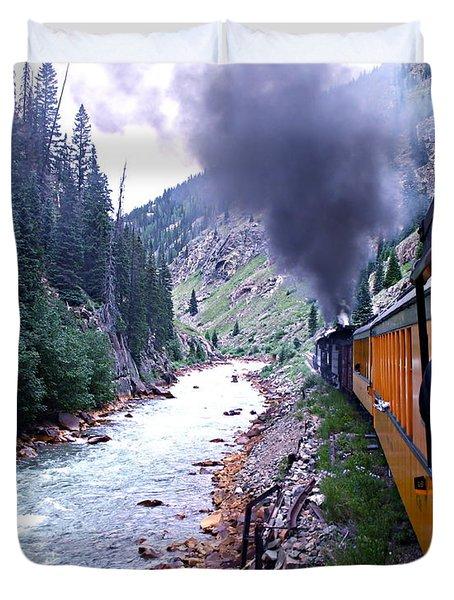 Durango To Silverton Duvet Cover by Kume Bryant