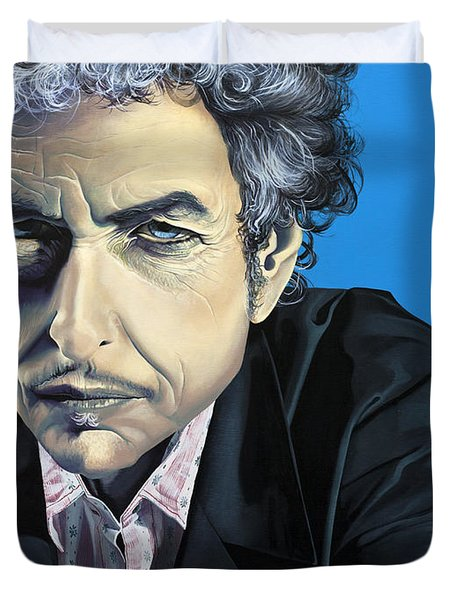 Dylan Duvet Cover by Kelly Jade King