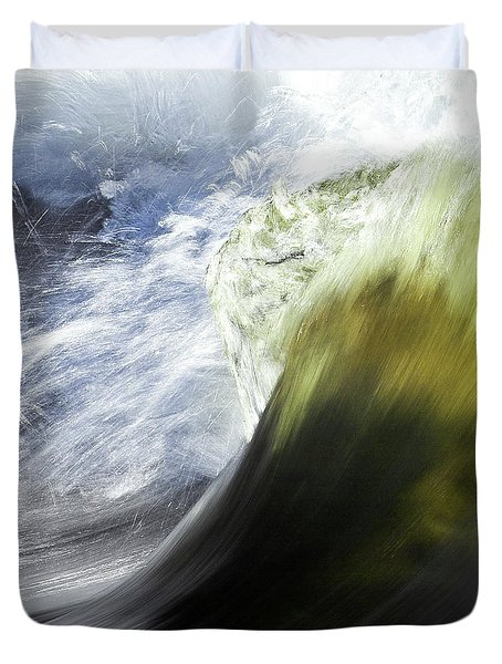 Dynamic River Wave Duvet Cover by Heiko Koehrer-Wagner