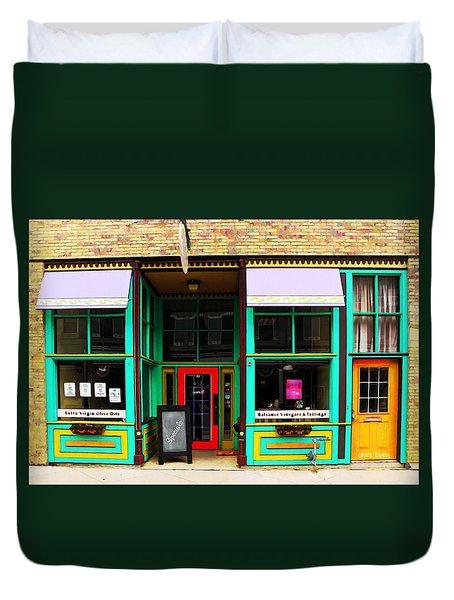 E V O O Store Duvet Cover by Chris Berry
