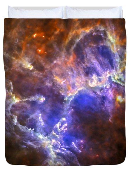 Eagle Nebula Duvet Cover by Adam Romanowicz