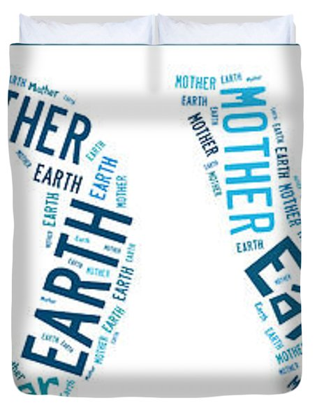 Earth Mother Duvet Cover by Georgia Fowler