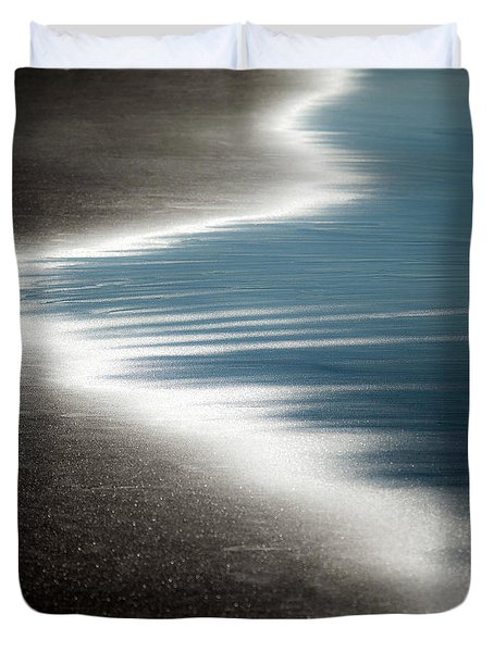 Ebb and Flow Duvet Cover by Dave Bowman