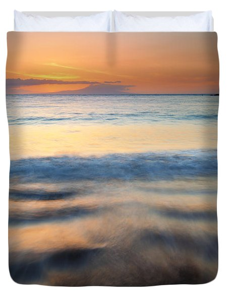 Ebb Duvet Cover by Mike  Dawson