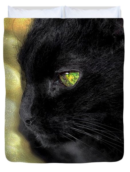Ebony Duvet Cover by Dale   Ford