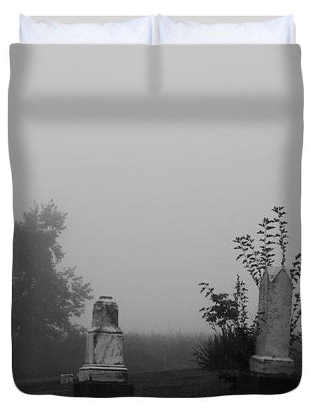 Eerie Duvet Cover by Dan Sproul