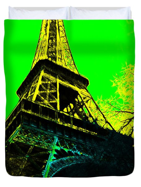 Eiffel 20130115v2 Duvet Cover by Wingsdomain Art and Photography
