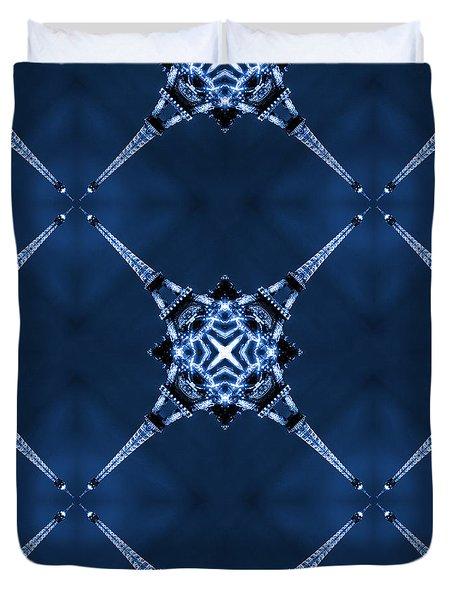 Eiffel Art 14 Duvet Cover by Mike McGlothlen