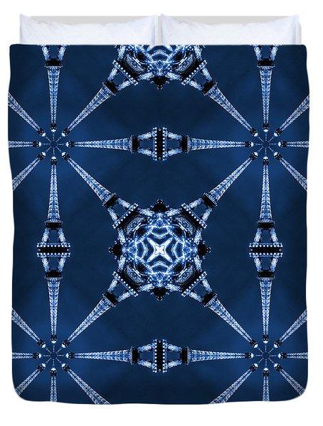 Eiffel Art 18 Duvet Cover by Mike McGlothlen