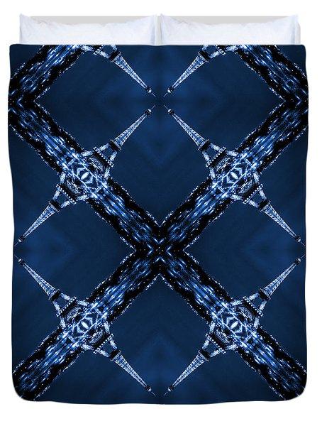 Eiffel Art 30 Duvet Cover by Mike McGlothlen
