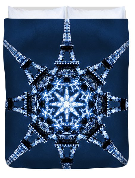 Eiffel Art 5 Duvet Cover by Mike McGlothlen